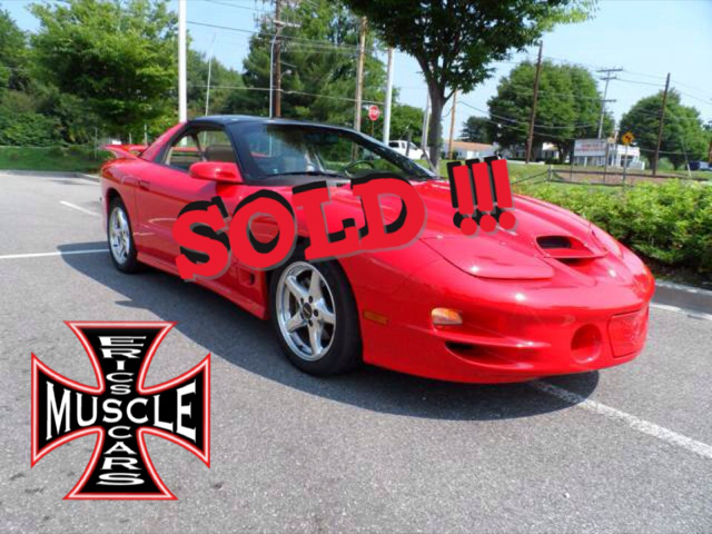 1998 Pontiac Trans Am SOLD SOLD SOLD