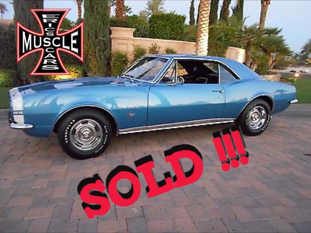 1967 Chevrolet Camaro SOLD SOLD SOLD