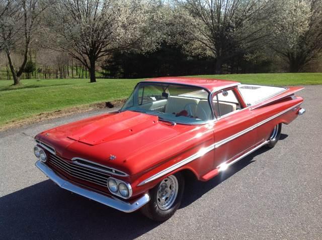 1959 Chevrolet El Camino SOLD SOLD SOLD