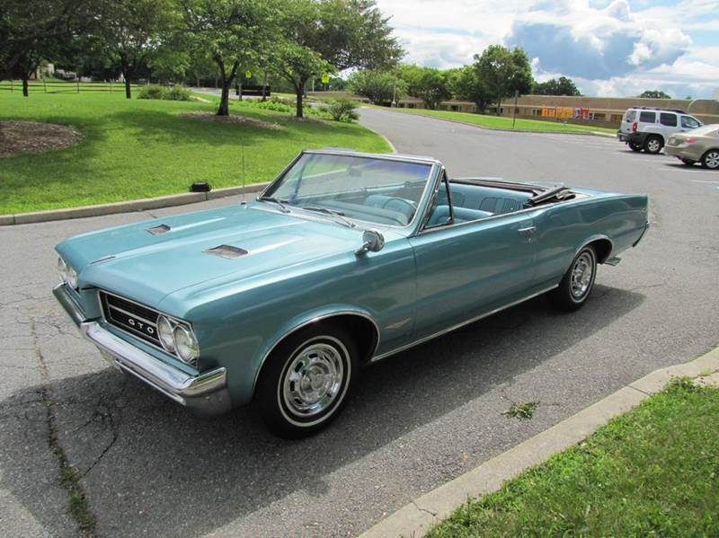 1964 Pontiac GTO Convertible with Air