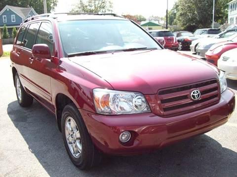 2007 Toyota Highlander for sale in Westport, MA