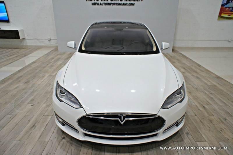 2014 Tesla Model S 60 4dr Liftback - Hollywood FL