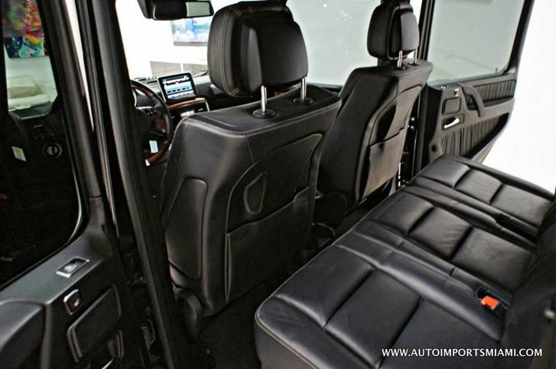 2014 Mercedes-Benz G-Class G 63 AMG AWD 4MATIC 4dr SUV - Hollywood FL