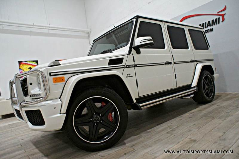 2014 Mercedes-Benz G-Class AWD G 63 AMG 4MATIC 4dr SUV - Hollywood FL