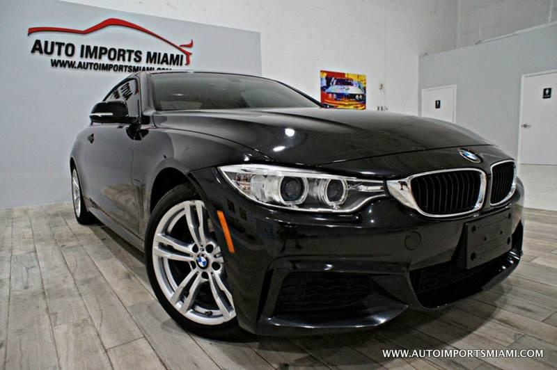2014 BMW 4 Series 428i xDrive AWD M-SPORT PKG 2dr Coupe SULEV - Hollywood FL