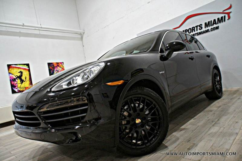 2012 Porsche Cayenne AWD S Hybrid 4dr SUV - Hollywood FL