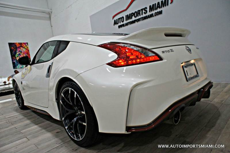2016 Nissan 370Z NISMO Tech 2dr Coupe 6M - Hollywood FL