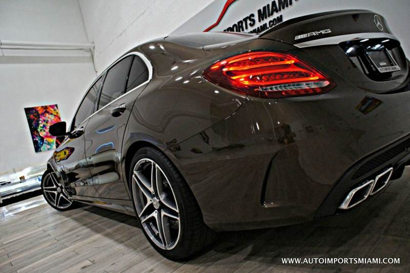 2015 Mercedes-Benz C-Class C 63 AMG 4dr Sedan - Hollywood FL
