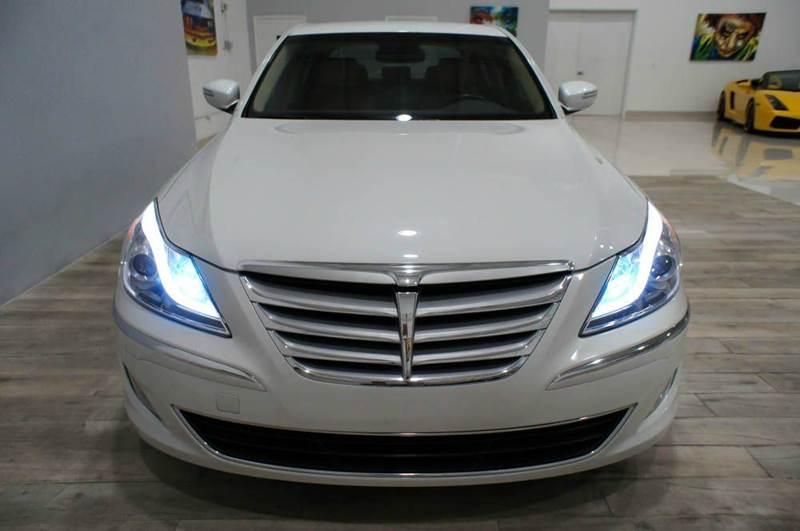 2012 Hyundai Genesis 3.8L V6 4dr Sedan - Hollywood FL