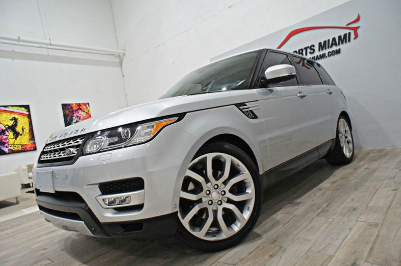 2014 Land Rover Range Rover Sport Hse Supercharged 4x4 4dr