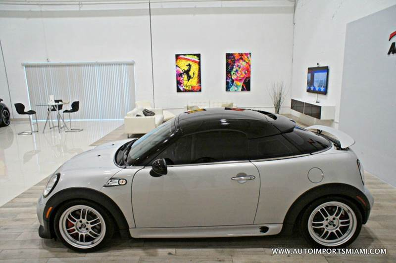 2012 MINI Cooper Coupe John Cooper Works 2dr Coupe - Hollywood FL