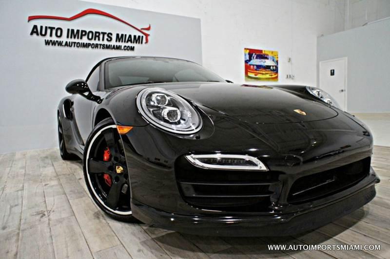 2014 Porsche 911 Turbo AWD 2dr Convertible - Hollywood FL