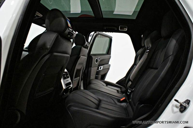 2015 Land Rover Range Rover Sport 4x4 Supercharged 4dr SUV - Hollywood FL