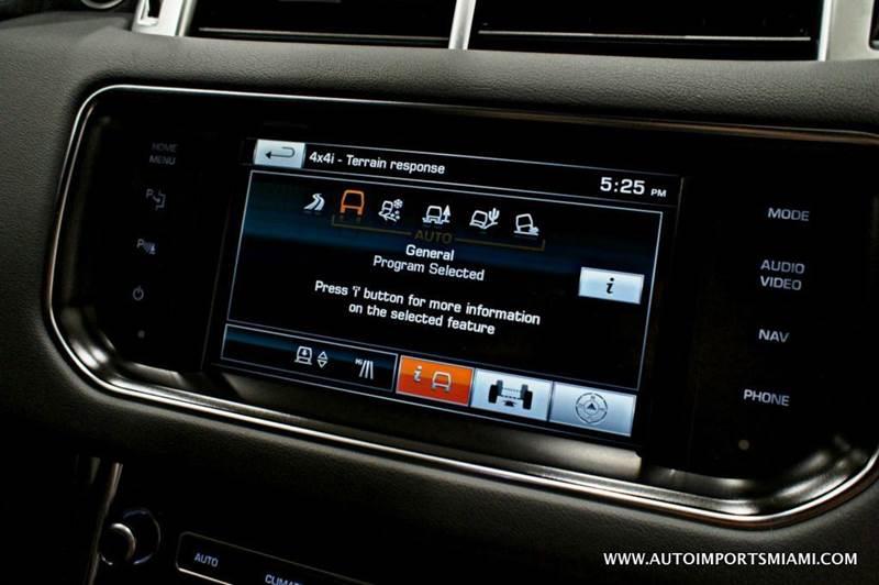 2015 Land Rover Range Rover Sport V8 Supercharged 4x4 4dr SUV - Hollywood FL