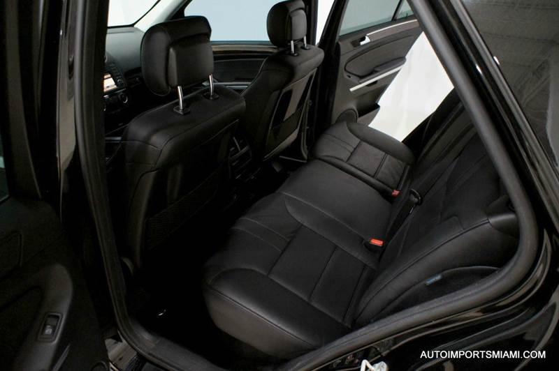 2009 Mercedes-Benz M-Class ML 550 AWD 4MATIC - Hollywood FL