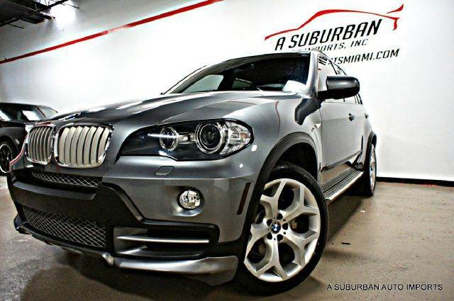 Sell Used 2008 Bmw X5 4 8i Aero Kit Sport Package 20 Wheels Running
