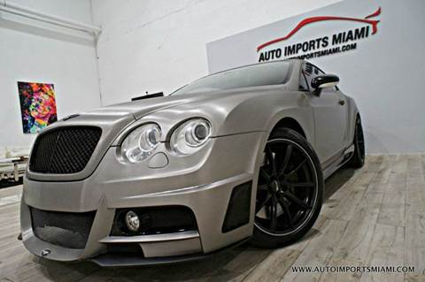 2006 Bentley Continental GT for sale in Hollywood, FL