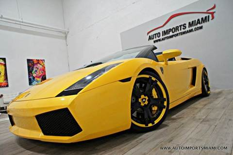 2008 Lamborghini Gallardo for sale in Hollywood, FL