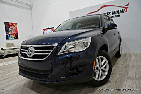 2011 Volkswagen Tiguan for sale in Hollywood, FL