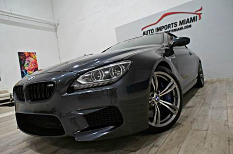 2014 BMW M6 for sale in Hollywood, FL