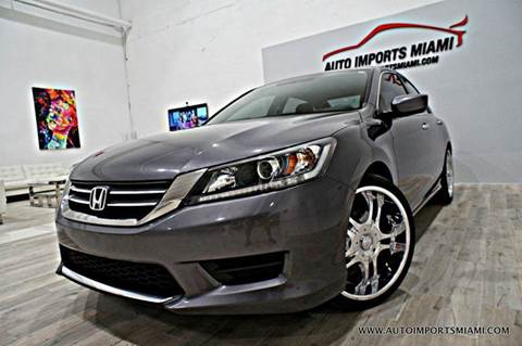 2013 Honda Accord for sale in Hollywood, FL