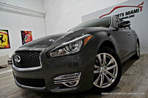 2015 Infiniti Q70 for sale in Hollywood, FL