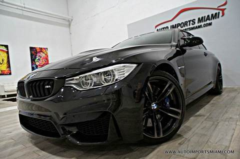 2015 BMW M4 for sale in Hollywood, FL