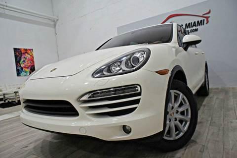2011 Porsche Cayenne for sale in Hollywood, FL