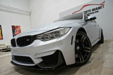 2016 BMW M3 for sale in Hollywood, FL