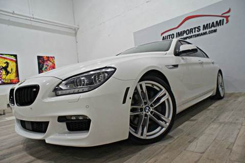 2014 BMW 6 Series for sale in Hollywood, FL