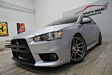 2010 Mitsubishi Lancer Evolution for sale in Hollywood, FL