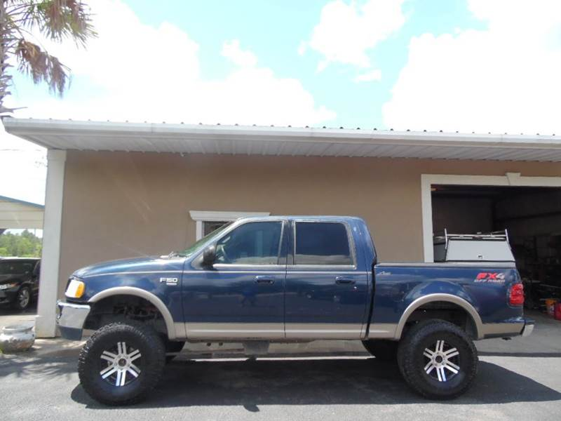 Pearl River Wholesale >> 2002 Ford F 150 4dr Supercrew Lariat 4wd Styleside Sb In Picayune Ms