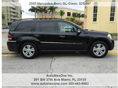 2008 Mercedes-Benz GL-Class for sale in Miami FL