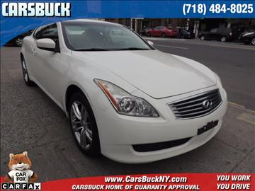 2009 Infiniti G37 Coupe for sale in Brooklyn, NY