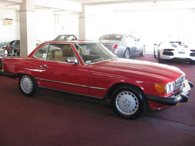 1987 mercedes benz 560 class 560sl 2dr convertible in for Mercedes benz of pompano beach