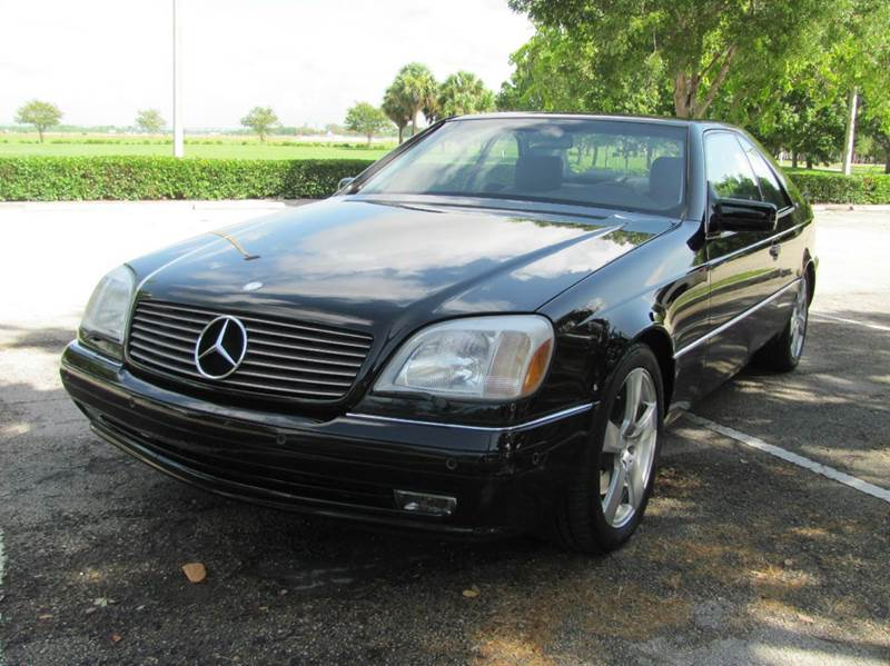 1997 mercedes benz s class s600 2dr coupe in pompano beach for Florida mercedes benz