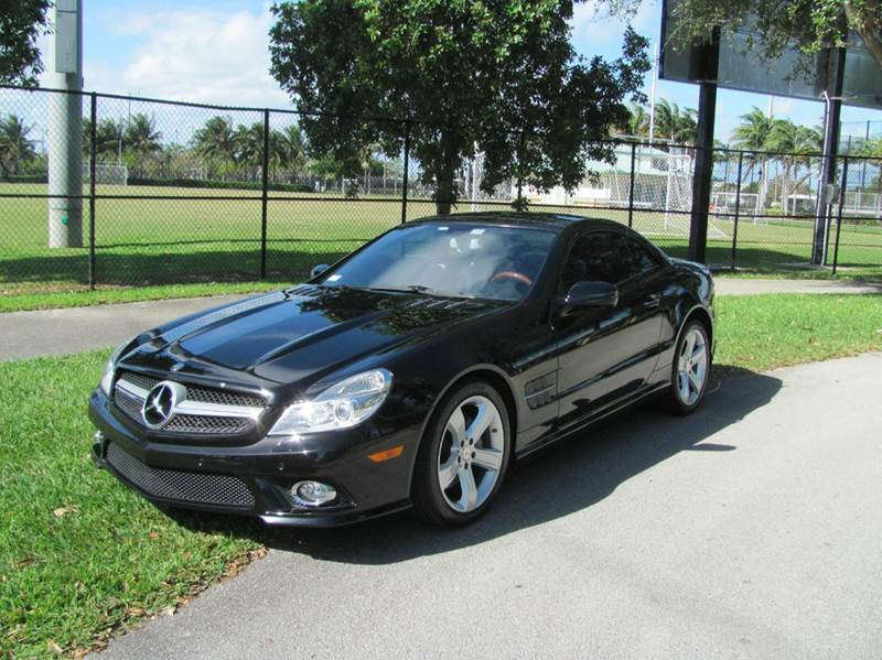 2009 mercedes benz sl class sl 550 2dr convertible in for Mercedes benz of pompano beach