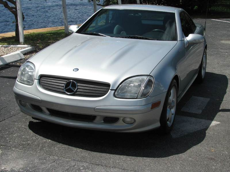 2001 mercedes benz slk slk320 2dr convertible in pompano beach fl. Cars Review. Best American Auto & Cars Review