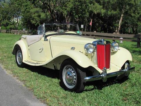 1950 MG TD for sale in Pompano Beach, FL