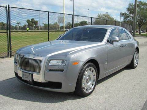2013 Rolls-Royce Ghost for sale in Pompano Beach, FL