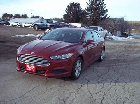 2014 Ford Fusion for sale in Shullsburg, WI