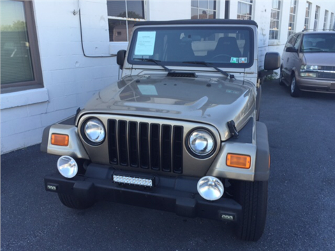 2006 jeep wrangler for sale pennsylvania. Black Bedroom Furniture Sets. Home Design Ideas