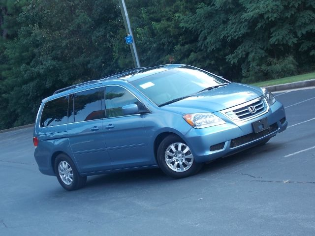 2010 HONDA ODYSSEY EX-L W DVD blue leather interior  dvd player cd player multi disc6 cd play