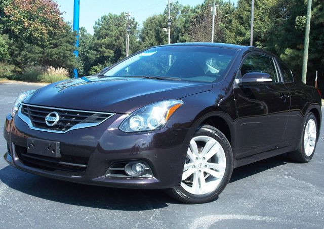 2010 NISSAN ALTIMA 25 S CVT COUPE crimson leather interior power windows push-button start key
