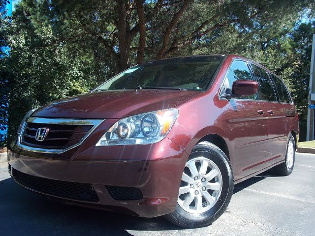2008 HONDA ODYSSEY EX-L maroon back up camera leather sets power sliding doors sunroof great f