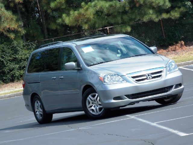 2006 HONDA ODYSSEY EX-L W DVD gray dvd leather seats sunroof security system am fm radiocru