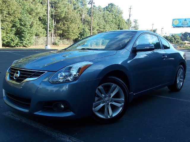 2010 NISSAN ALTIMA 2DR CPE I4 CVT 25 S COUPE ocean gray metallic leather interior navigation sys