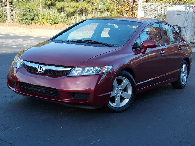 2011 HONDA CIVIC LX-S SEDAN 5-SPEED AT red 2011 honda civic lx-s sedan alloy wheels rear spoiler