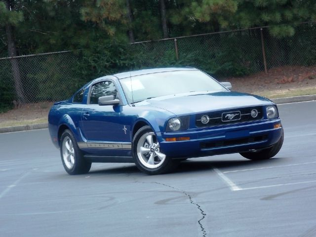2007 FORD MUSTANG V6 DELUXE COUPE blue sporty manual 6-speed transmission rear wheel drive tint