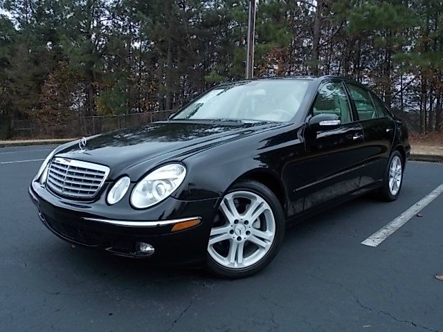 2006 MERCEDES-BENZ E-CLASS E350 black like new navigation system leather interior power window